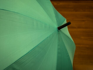 Paraguas verde